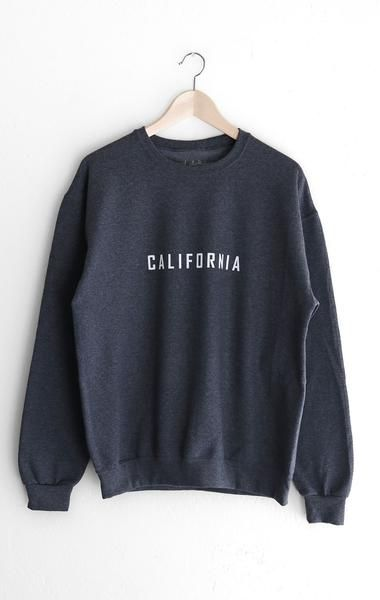 California Oversized Sweatshirt EC01