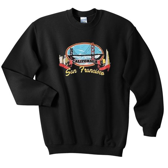 California San Francisco Sweatshirt EL01