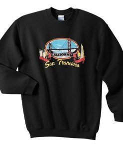 California san francisco sweatshirt EC01