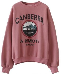 Canberra Mountain Sweatshirt EL01