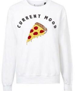 Current Mood Pizza Sweatshirt EL01