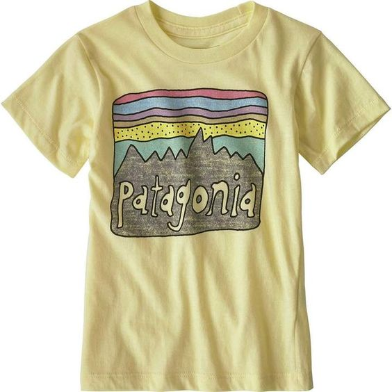 Patagonia Fitz Roy Skies girls Tshirt EC01