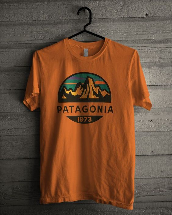 Patagonia Logo T Shirt EC01