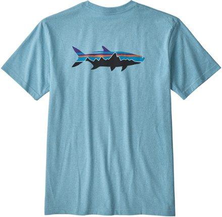 Patagonia Mens Fitz Roy Tarpon Tshirt EC01