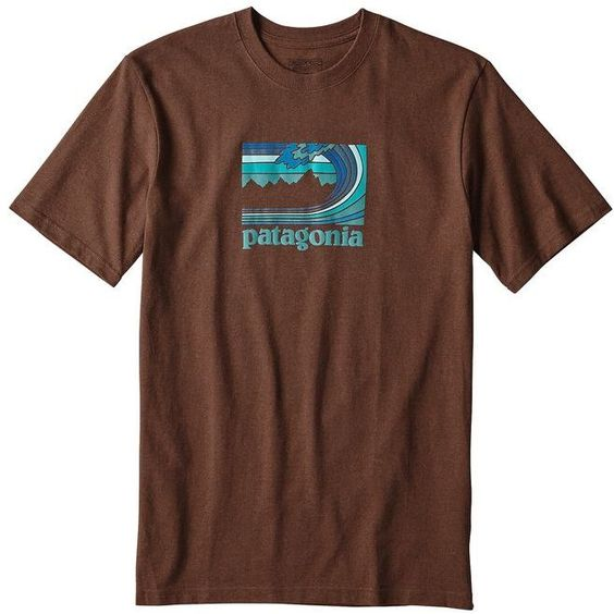 Patagonia Mens Framed Fitz Roy Tshirt EC01