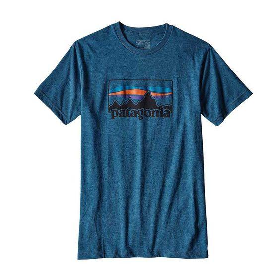 Patagonia Mens Logo Short Sleeve T-Shirt EC01
