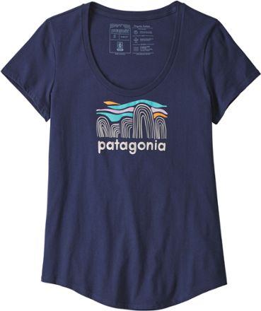Patagonia Womens Fitz Roy Boulders Tshirt EC01