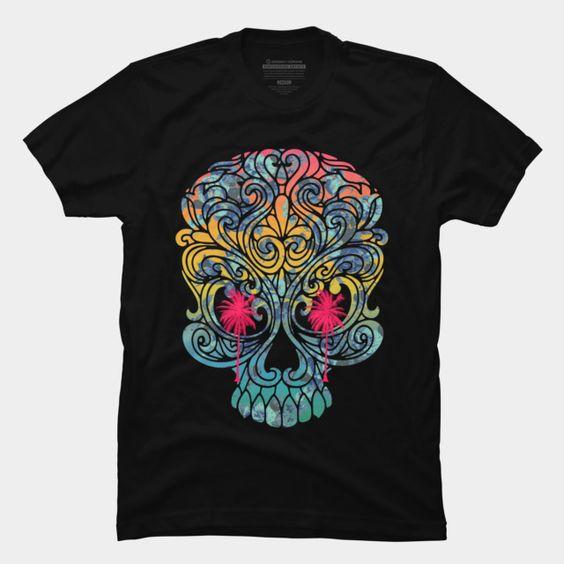 Summer Skull Tshirt EC01