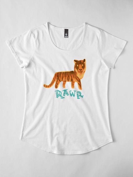 Tiger Rawr T-Shirt AD01
