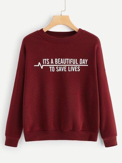 To Save Lives Sweatshirt SR01