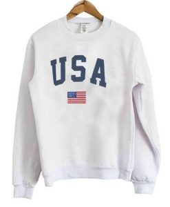 USA Flag Sweatshirt EL01