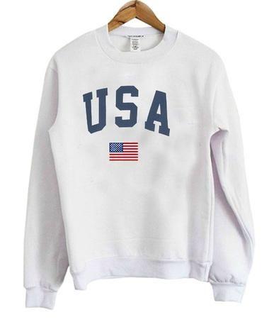 USA Flag Sweatshirt EL01