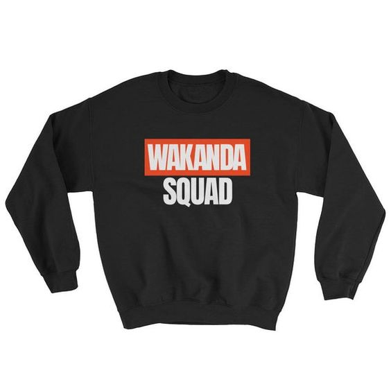 Wakanda squad Sweatshirt EC01