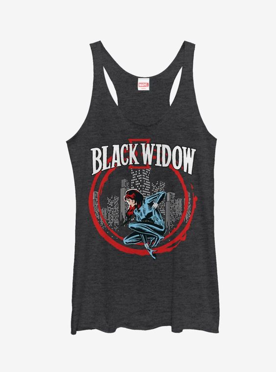 Black Widow Tank Top SR01