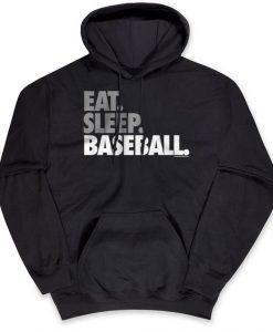 Eat Sleep Baseball Hoodie GT01