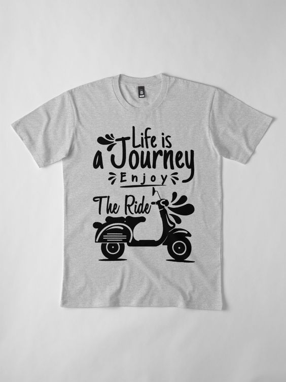 Enjoy The Ride T-shirt ZK01