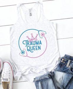 Trauma Queen Tank Top EL01