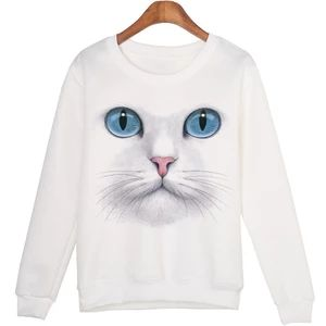 3D Beads Cat Sweatshirts EL