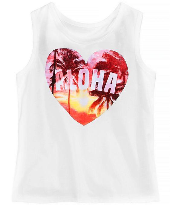 Aloha Love Tank Top EM01