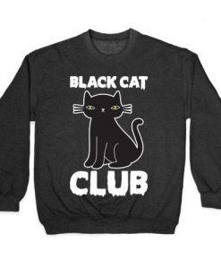 Black Cat Club Sweatshirt EL