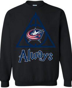 Blue Jackets Always Sweatshirt FR01