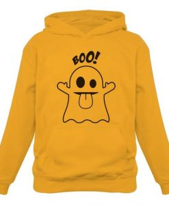 Boo Ghost Halloween Hoodie AI01
