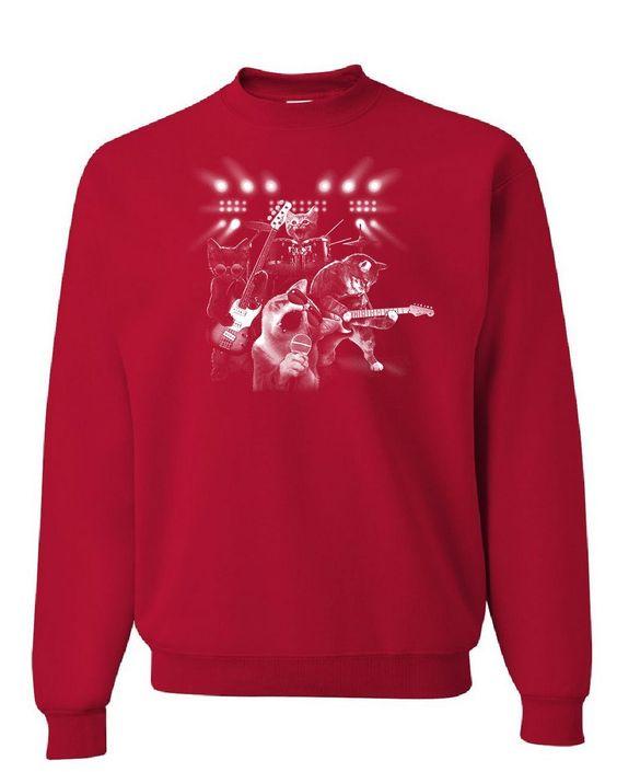 Cats Rock Concert Sweatshirt VL01