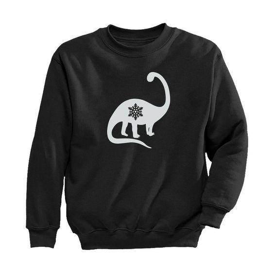 Christmas Dinosaur Sweatshirt FD