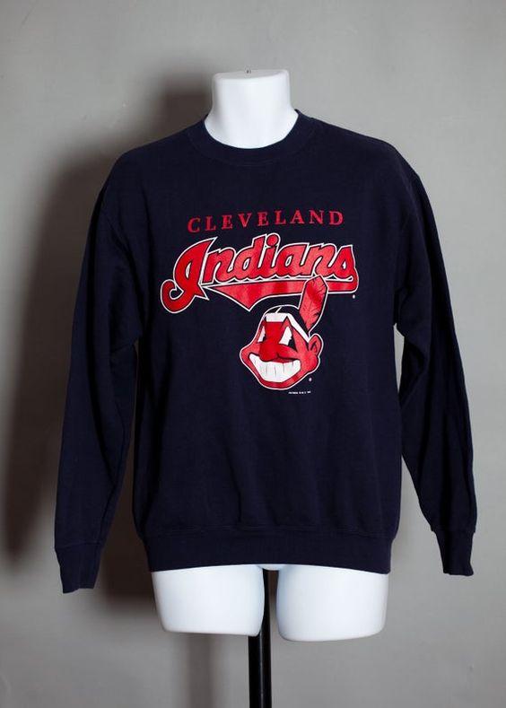 Cleveland Indians Baseball Sweatshirt AV01