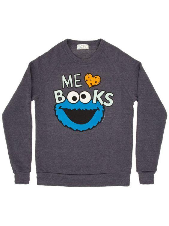 Cookie Monster Me Love sweatshirt SR