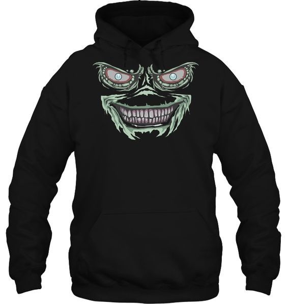 Creepy Lizard Monster Hoodie SR