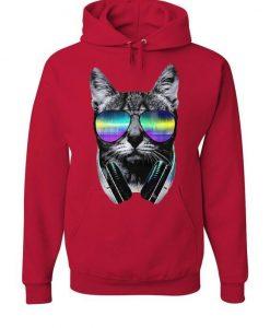 DJ Cat Hoodie EL