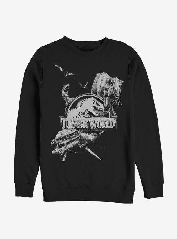 Dino Collage Sweatshirt FDDino Collage Sweatshirt FD