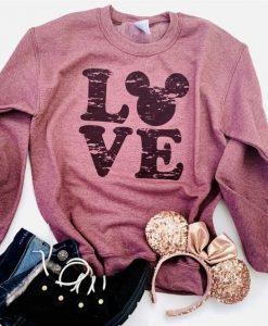 Disney Character Family Vacation Sweatshirts DV