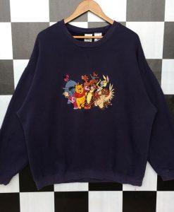 Embroidery Logo Sweatshirt AV01