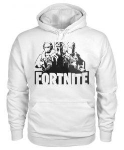 Fortnite White Hoodie EM01