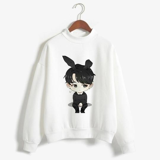 Winter Clothes Bts Love Sweatshirt AZ01