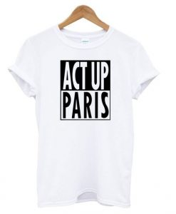 Act Up Paris T shirt EL7N