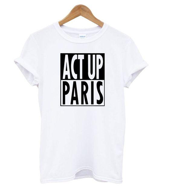 Act Up Paris T shirt EL7N