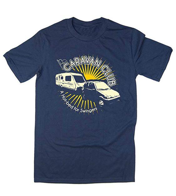 Balcony Caravan Club T shirt EL7N