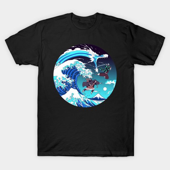 Breath of the Great Wave T-Shirt EL25N