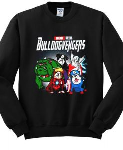 Bulldog Bullvengers sweatshirt ER25N