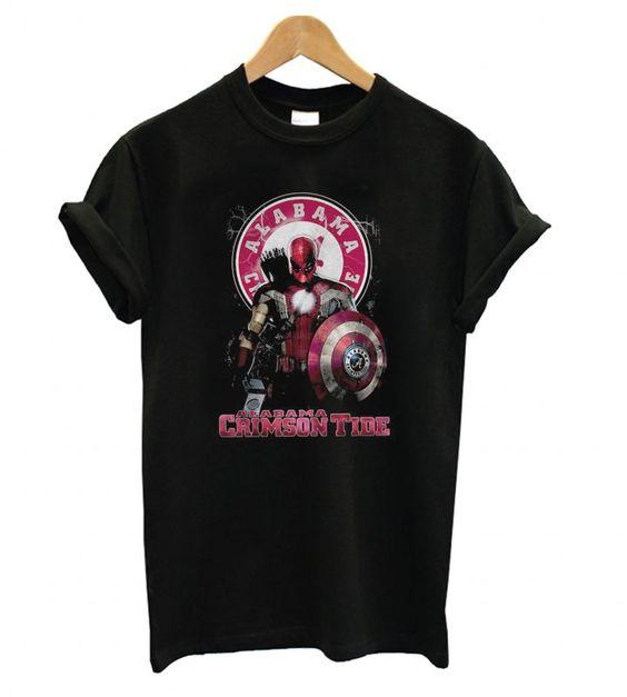 Crimson Tide T shirt EL7N