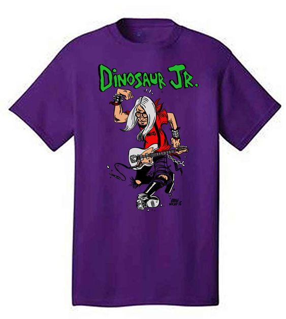 Dinosaur Jr Purple T shirt EL7N
