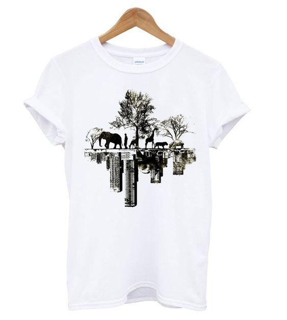 Duality White T shirt EL7N