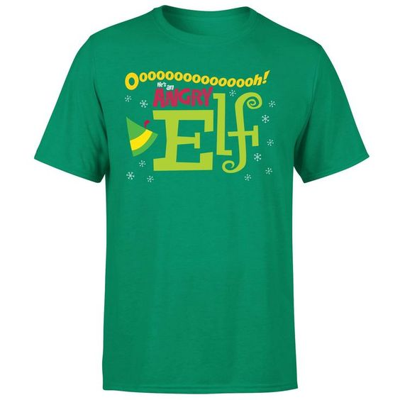 Elf Mens Christmas T-Shirt AZ7N