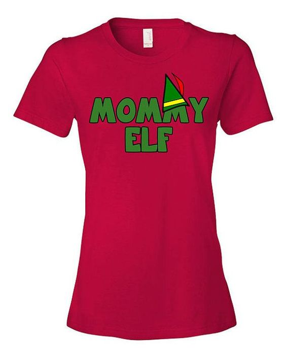Elf Mommy T-Shirt AZ7N