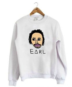 Face Earl White sweatshirt ER25N