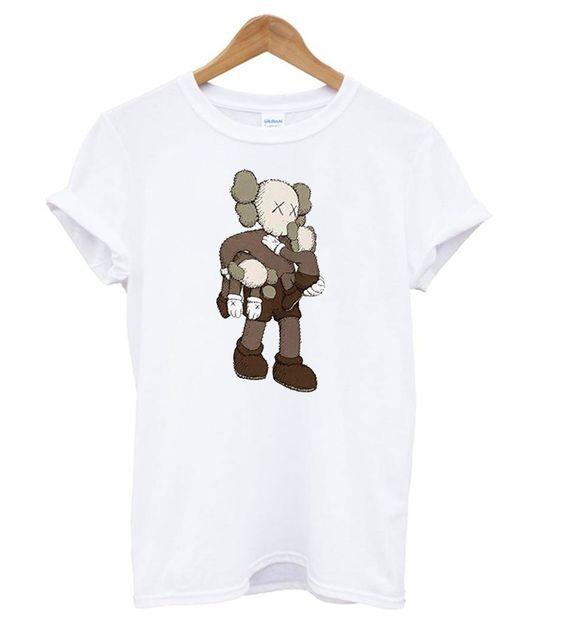 Kaws Uniqlo Clean Slate Tshirt EL7N