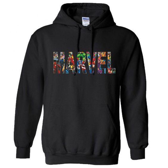 MARVEL Comic Hoodie VL25N